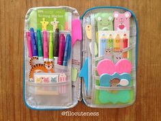 Filo Cuteness: On-the-Go Filofax Supply Case