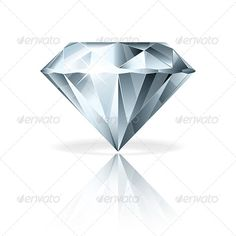 drawing glass is hard and this artist has made a good job recreating a diamond. I like the different cuts and the reflection of each. AR
