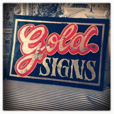 Sign Painting Colection by Caetano Calomino, via Behance