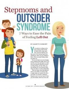 Feeling like an outsider is a common problem for stepmoms. Learn how to feel better about your role inside the October 2015 issue of StepMom Magazine at: http://www.stepmommag.com/2015/10/01/stepmoms-and-outsider-syndrome-in-the-october-2015-issue/