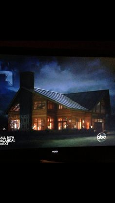 Grey's anatomy house Love all the natural night from the windows
