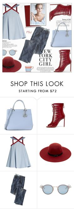 """Last Minute Trip"" by jiabao-krohn ❤ liked on Polyvore featuring Michael Kors, Anna October, Maison Scotch, Wrap, Thom Browne, Mix & Match, Richard Ginori and fsjshoes"