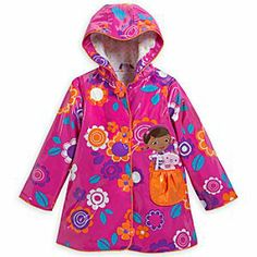 Disney Doc McStuffins Rain Jacket for Girls | Disney StoreDoc McStuffins Rain Jacket for Girls - In the event of bad weather, take one Doc McStuffins Rain Jacket and wrap up warm. The young healthcare provider is joined by her woolly friend Lambie on this colorful rainwear that is guaranteed to brighten up the wettest day.