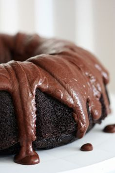 Double Chocolate Guinness Bundt - Lactose Free
