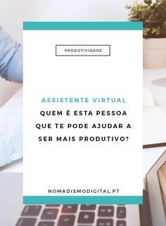 Assistente virtual: quem é esta pessoa que te pode ajudar a ser mais produtivo? Descobre esta profissão que qualquer freelancer ou empreendedor digital precisa! via @nomadigitalpt
