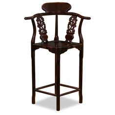 Asian Style Bar Stools rosewood ming style chair | asian chairs, antique chairs and hard wood