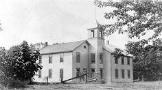 Preston County WV history | Aurora Public School . Circa 1910.