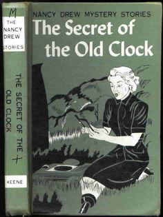 """Nancy Drew mysteries...LOVED these.  I read every single one. """"The 99 steps"""" scaared the bejeezus outta me"""
