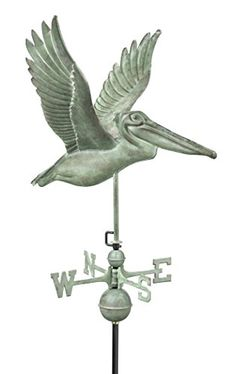 Good Directions 9509V1 Pelican Weathervane Blue Verde Copper -- You can find out more details at the link of the image.