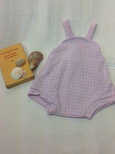 Vintage baby swimsuit, retro baby swimwear, beach baby, baby swimsuit by RunaroundRetro on Etsy