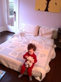 I really don't like cribs, especially for mobile babies and tots. In 17 years of working with children in cribs, this is what I have seen: 1) 3 broken arms. Two broken legs. From jumping or …