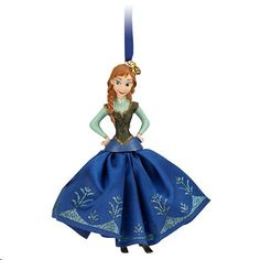 Disneys Frozen Anna Sketchbook Ornament @ niftywarehouse.com