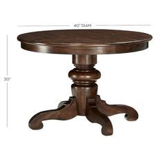 Charmant 40 Round Dining Table