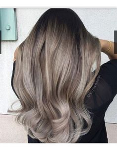 Hair Style Ideas : Illustration Description The Warm to Cool Blonde Hair Color Hacks Every Colorist Should Know – Hair Color – Modern Salon -Read More – Warm To Cool Blonde, Cool Blonde Hair Colour, Brown Blonde Hair, Brunette Hair, Grey Ash Blonde, Ash Hair, Ombre Hair, Ash Ombre, Ash Grey Hair