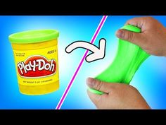 How to make slime without glue 3 ways tested how to make slime diy play doh slime how to make slime out of play doh ccuart Images