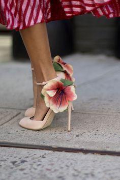 - Les plus belles chaussures repérées à la Fashion Week - Elle