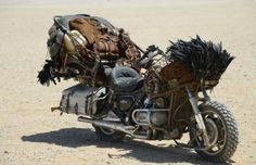 "Custom Motorcycle from ""MAD MAX : FURY ROAD"" HONDA GL1200 #motorcycle #Post_Apocalyptic"
