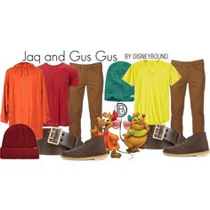 Disney Bound - Jaq and Gus Gus