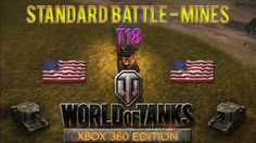 This is a Standard Battle taking place at Mines map with T18 tank in World of Tanks: Xbox 360 Edition, won with 474 experience.