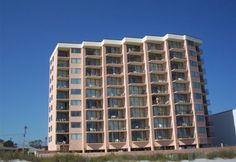 This cozy, affordable one bedroom condo is located right on the ocean in beautiful North Myrtle Beach. Comfortable and convenient describes this great property in the Crescent beach area of North Myrtle Beach. Sit on the balcony and watch the sunrise while you have your morning coffee. There is also a large hot tub on the property for you to sit and enjoy. 👙 🏄🏻 🚣🌴 Call us today at 888-488-8588 to book your next #MyrtleBeach Vacation #BeachVacation #FamilyVacation