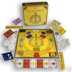 Gift of Enlightenment- unusual spiritual game. It can be taken purely as a collection mini games or as something more if you believe in chakras/dantians. All the mini games are similar - a variation of 'find card X' so if you think you have ESP powers, you'll do well! If you don't believe in that, then it's an entirely luck/probability based game. I find turning negative traits into positive ones oddly therapeutic and really love the randomised 'gift' for the winner! The crystals are cool…
