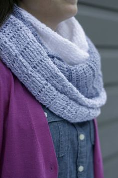 Huge color block crochet wrap scarf pattern // shades of grey. This giant scarf works up quickly and makes a fabulous gift!