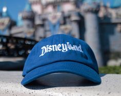 4a8a3aab750 Hometown LA Hat   Classic Dad Hat   Unstructured Low-profile cap   Custom  3D Embroidered   Adult Unisex. Disneyland Hats