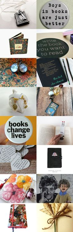 Totally Perfect Gifts for Book Lovers by Soph on Etsy--Pinned with TreasuryPin.com