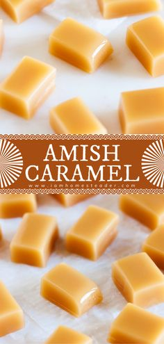Homemade candy has never been easier! This easy dessert to impress requires a few staple ingredients and a little bit of time. Amish Caramel is soft, chewy, melt-in-your-mouth – it is the perfect sweet treat to set out for gift-giving! Check out the variations for this dessert idea!