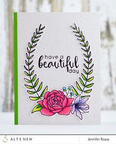 Floral Frame Stamp Set – Altenew
