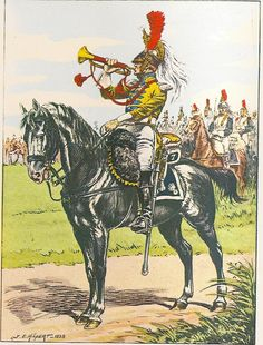 French; 7th Cuirassier Regt, Trumpeter, 1805-10