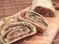 ROTOLO di PIZZA FARCITO | ricetta veloce | Zenzero e Limone