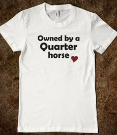 Owned by a Quarter Horse - Silver Swan Equestrian on Wanelo