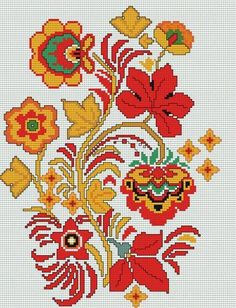 This Pin was discovered by Nic Folk Embroidery, Cross Stitch Embroidery, Embroidery Patterns, Cross Stitch Designs, Cross Stitch Patterns, Vintage Cross Stitches, Cross Stitch Flowers, Cross Stitching, Blackwork