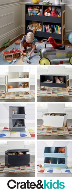 Storage meets functionality in your playroom or kids' room with our toy boxes. Room Interior, Interior Design Living Room, Kids Bedroom, Bedroom Decor, Bedroom Toys, Bedroom Ideas, Bedrooms, My Bebe, Toy Rooms