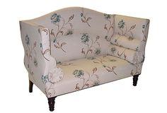 Cream/Floral Sofa