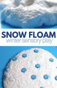 Winter sensory play for kids - No Time For Flash Cards - Snow floam snow slime recipe – -Snow Floam! Winter sensory play for kids - No Time For Flash Cards - Snow floam snow slime recipe – - Snow Activities, Winter Activities For Kids, Winter Crafts For Kids, Winter Fun, Christmas Activities, Preschool Winter, Winter Snow, Winter Crafts For Preschoolers, Therapy Activities
