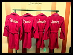 Bridesmaid Robe by JardioDesigns on Etsy, $38.00