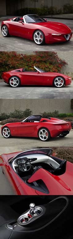 ♂ Alfa Romeo 2uettottanta concept car by Pininfarina ❤ www.healthylivingmd.vemma.com ❤