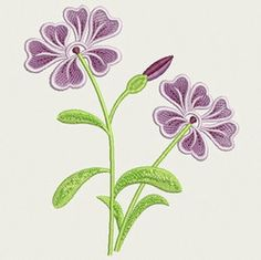 Purple Flower free on 6-19-15 from embroidery home.com    (saved on thumbdrive under miscellaneous)