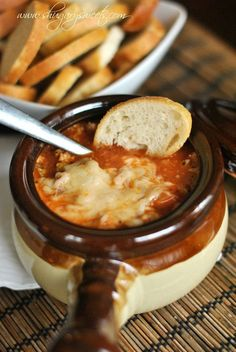 Lasagna Soup: the perfect weeknight dinner, easy and delicious #pork #lasagnasoup