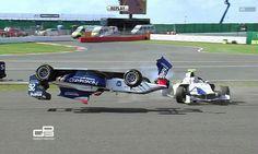 GP3 - Patrick Kujala crash at Silverstone, 2013