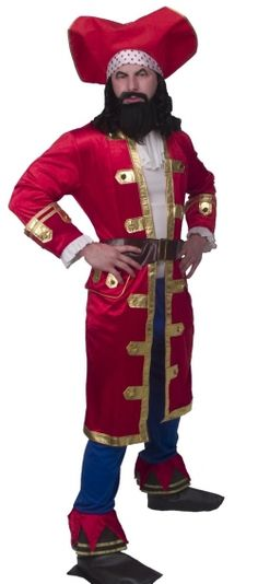 Captain Morgan costume-Don't forget to pick up a bottle of Captain Morgan rum (for a costume prop of course!)