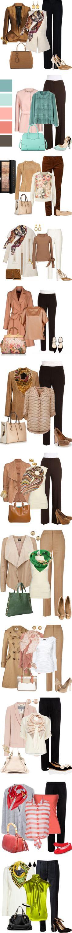 Chic pant outfits by binkie211 on Polyvore featuring мода, Haider Ackermann, STELLA McCARTNEY, Proenza Schouler, Nordstrom, Dolce&Gabbana, Fendi, Valentino, Jones New York and Boohoo
