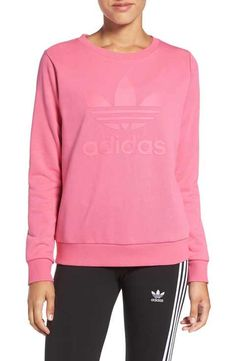 adidas Originals 'Trefoil' Crewneck Sweatshirt