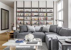 Брутальная квартира в историческом районе Нью-Йорка | Пуфик - блог о дизайне интерьера