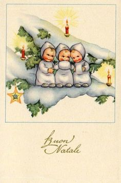 Alenquerensis: Vintage Italian Christmas Cards