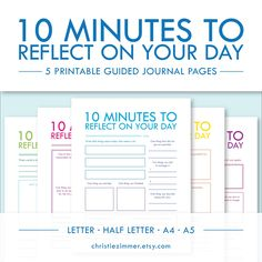 Guided journaling; good for pals!