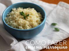 Como fazer couscous marroquino. Passo a passo completo em http://gordelicias.biz.