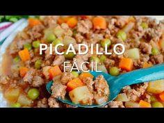 Cómo hacer picadillo (fácil, rápido & muy delicioso)